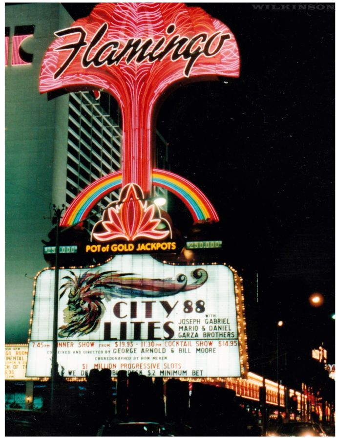 Flamingo Sign Las Vegas