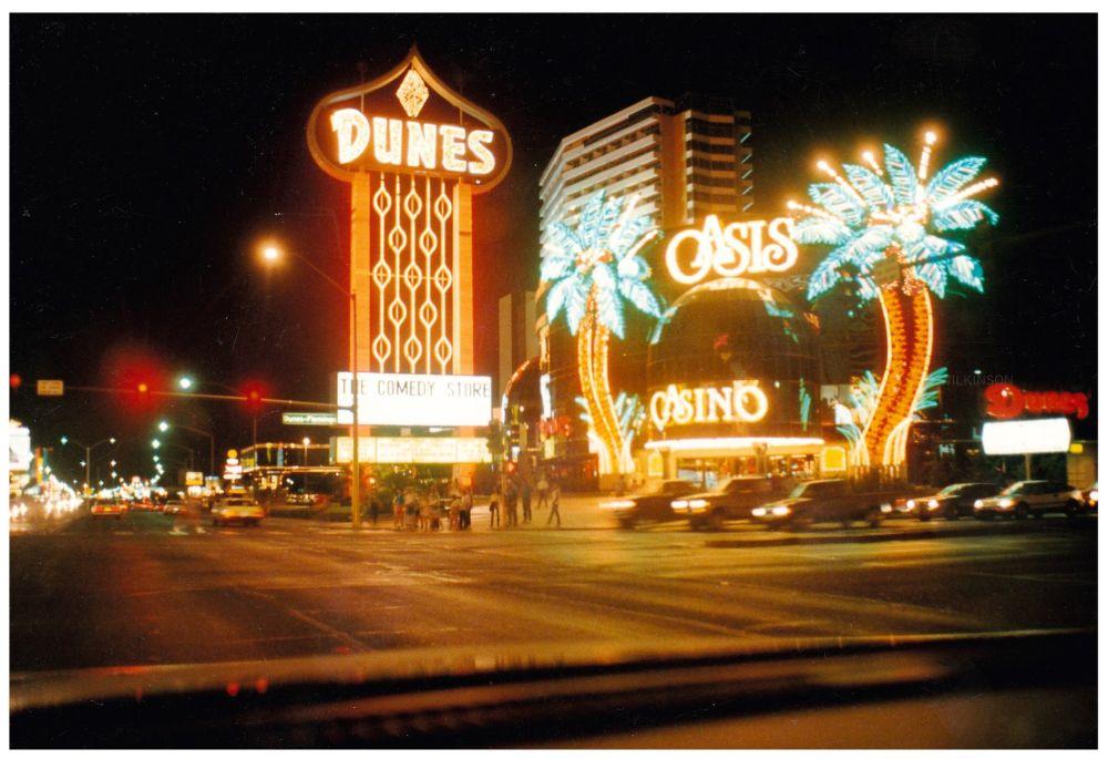 Vintage Dunes Sign Las Vegas