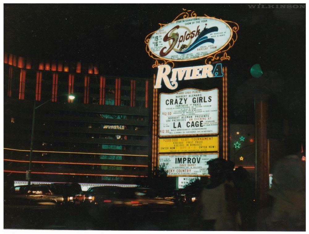 Vintage Riviera Sign Las Vegas
