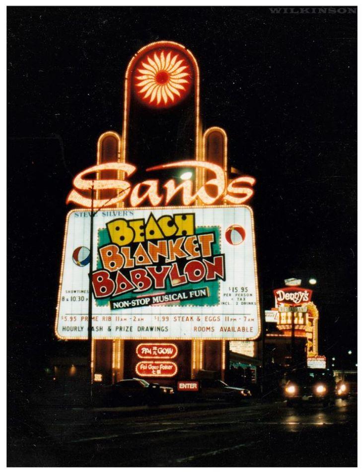 Vintage Sands Sign