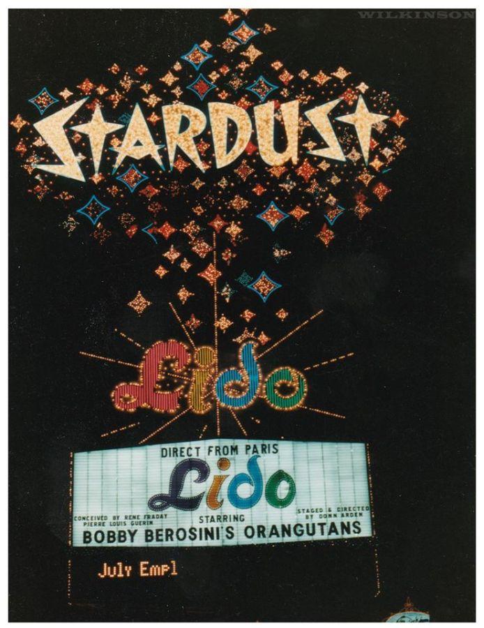 Vintage Stardust Sign