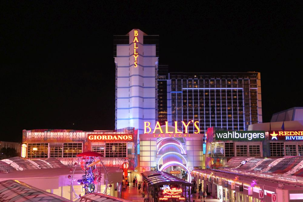 bally's hotel in Las Vegas