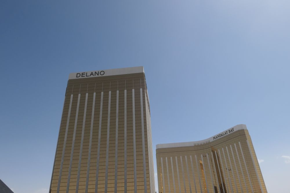 Delano and Mandalay Bayhotel in Las Vegas