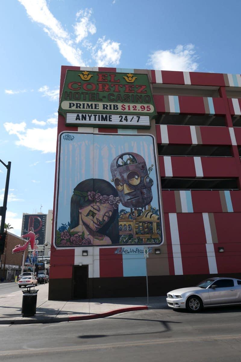 Las Vegas mural - artist Pixel Pancho