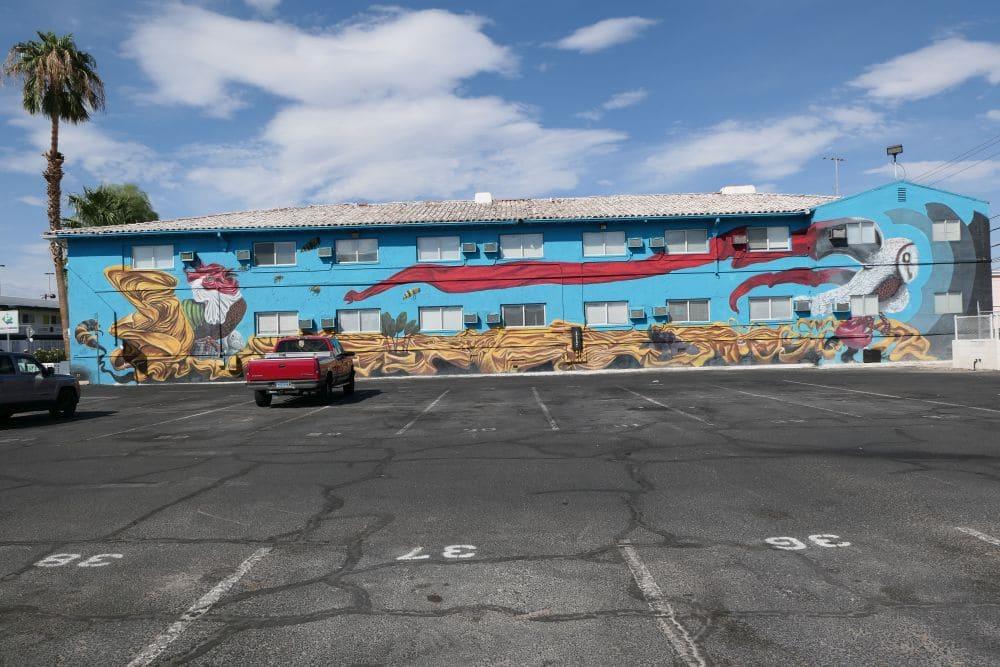 Downtown Las Vegas Mural - artist Shay Davis