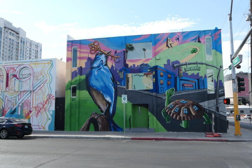 Downtown Las Vegas mural