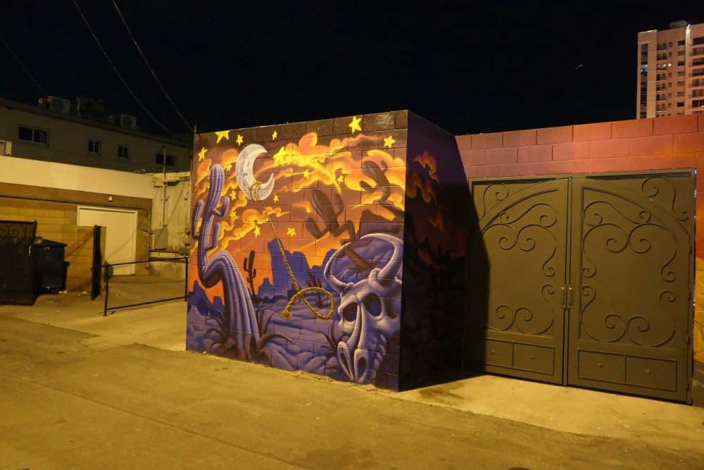 Mural Downtown Las Vegas - Desert