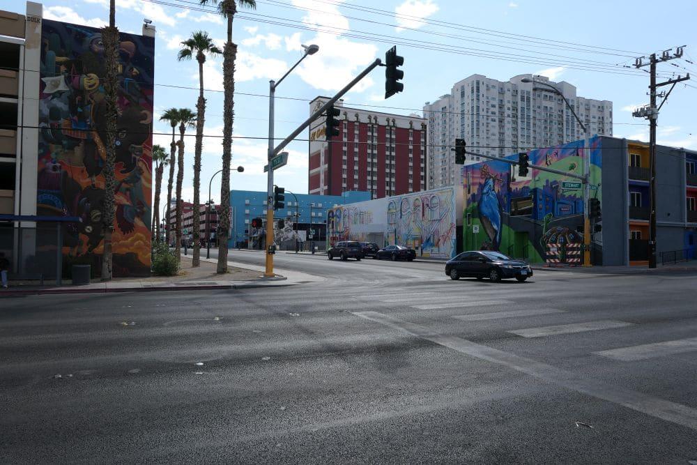 Murals in Downtown Las Vegas