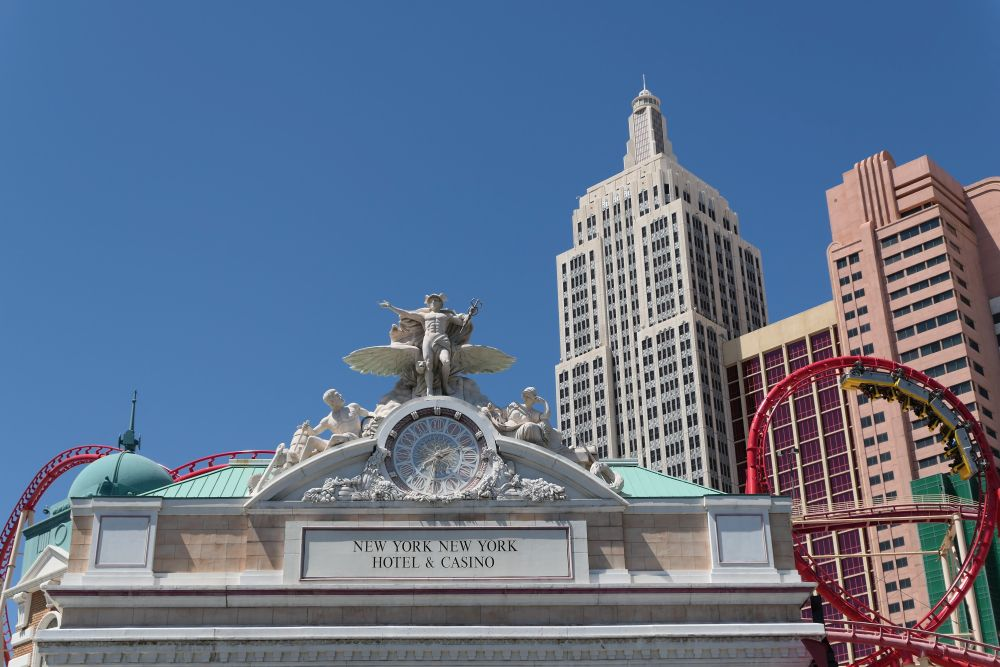New York -New York hotel in Las Vegas