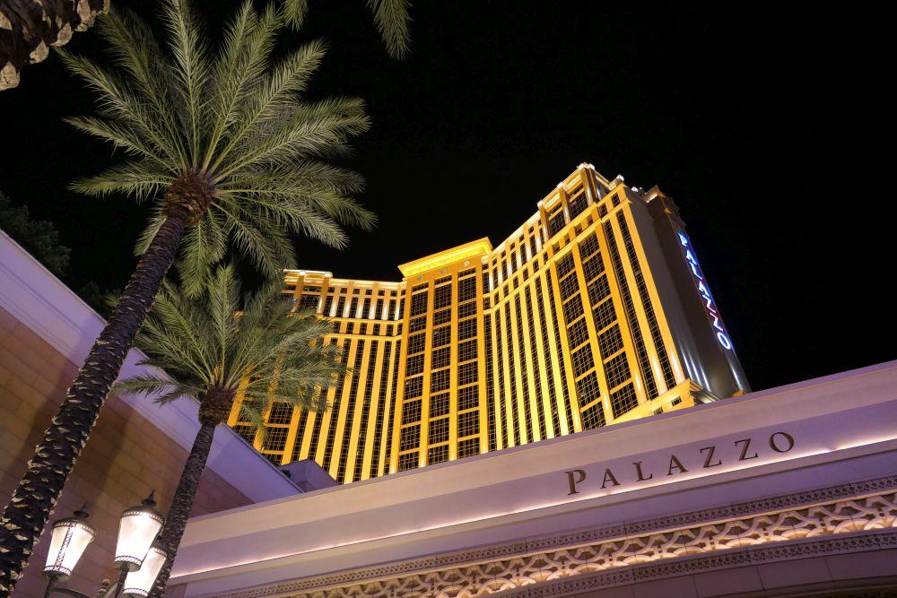 Palazzo hotel in Las Vegas near Venetian