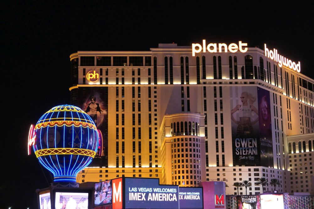 Planet Hollywood Hotel in Las Vegas