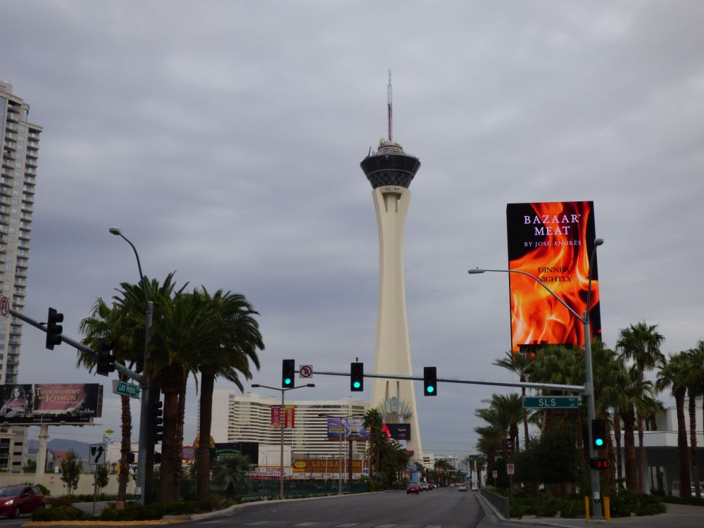 The Stratosphere Tower Las Vegas Strip