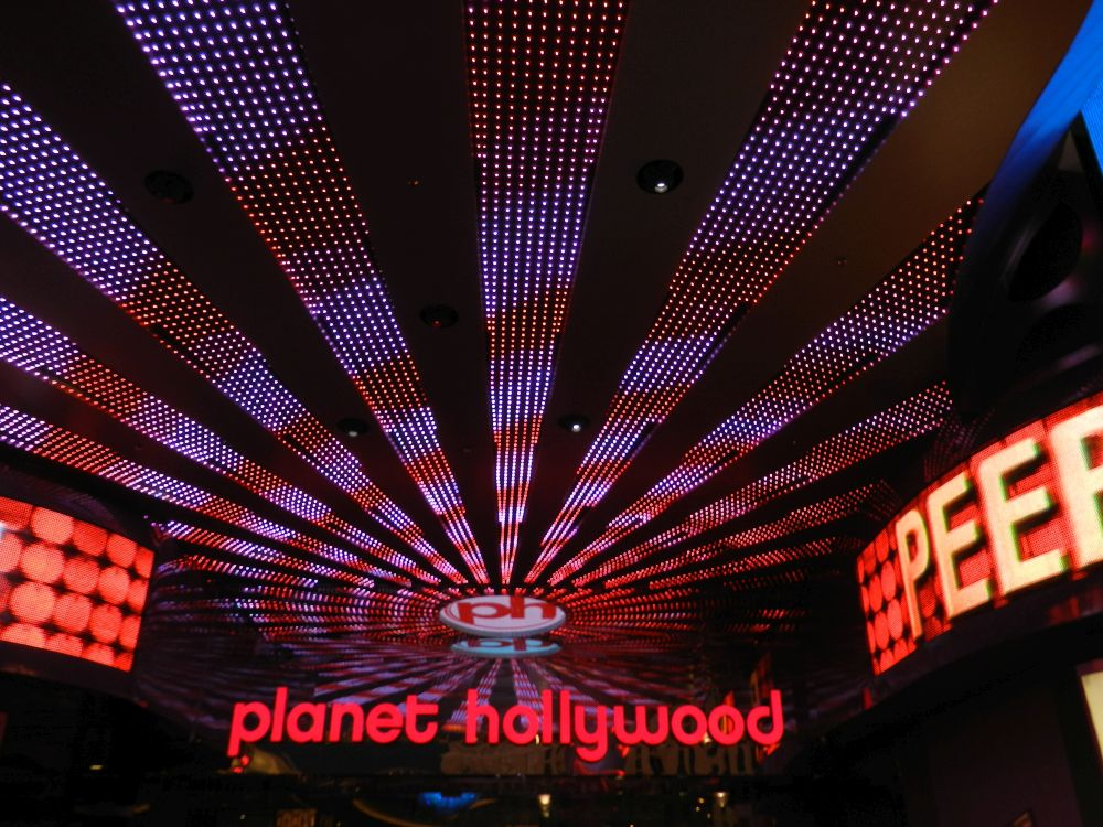 Entrance Planet Hollywood Casino in Las Vegas