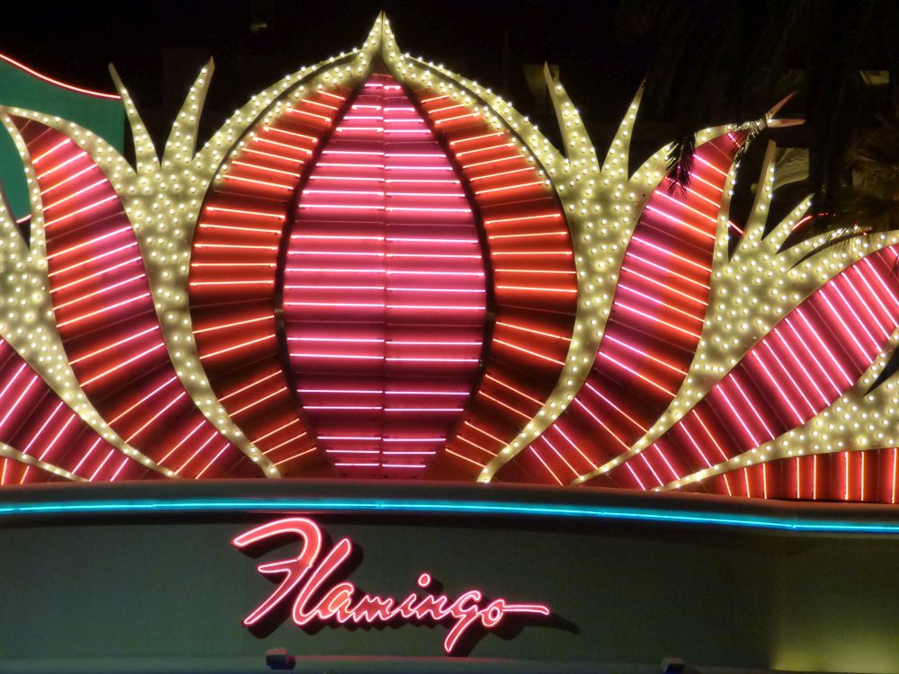 Neon Flamingo Hotel and Casino in Las Vegas