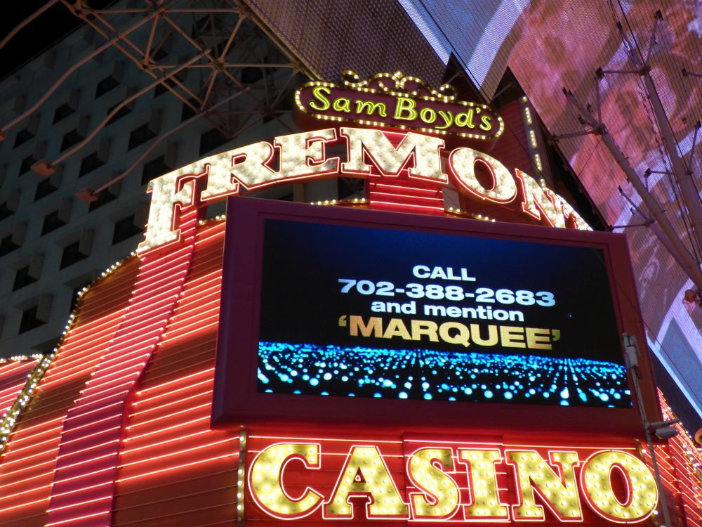 Neons Fremont Casino in Downtown Las Vegas