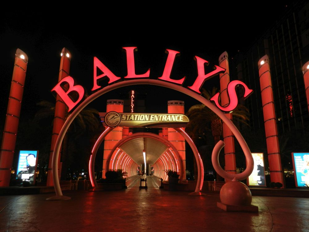 Entrance Bally's Casino in Las Vegas