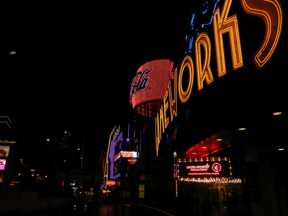 Neons Las Vegas Strip