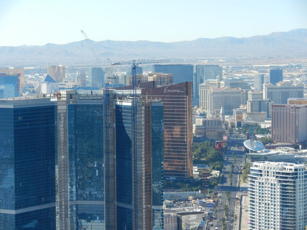 View The Las Vegas Strip from Stratosphere Tower